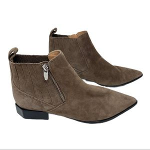 Sigerson Morrison brown suede ankle boots